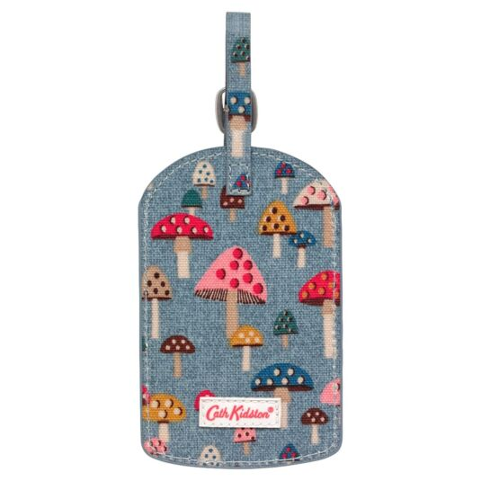 Mini Mushrooms Luggage Tag