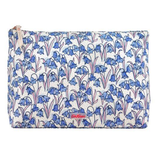 Bluebells Matte Zip Wash Bag