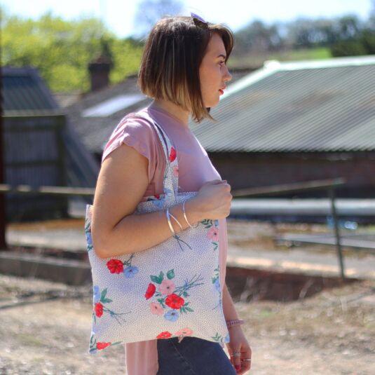 Saltwick Bunch Cotton Bookbag