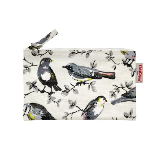 Garden Birds Zip Purse