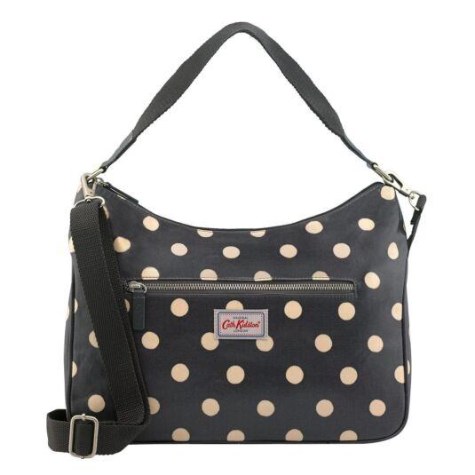 Button Spot Curve Shoulder Handbag