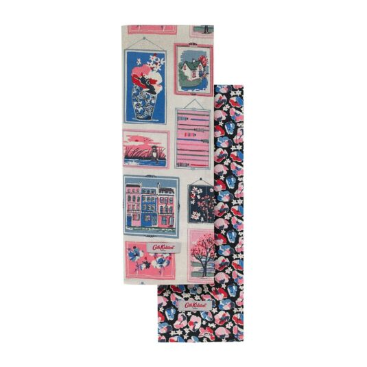 Frames Tea Towel Set of Two Cath Kidston