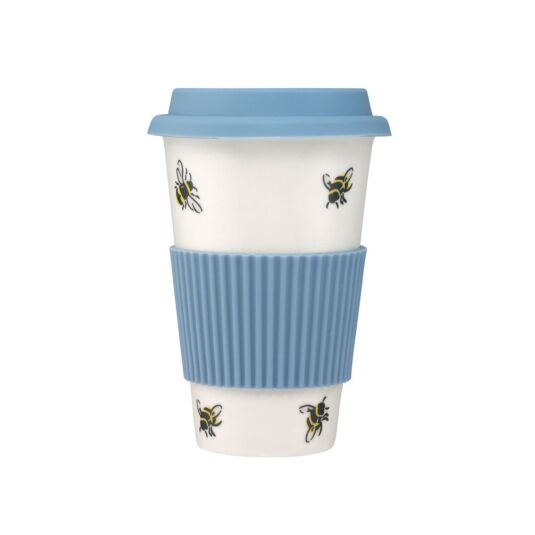 Bumble Bee Ceramic Boxed Travel Mug