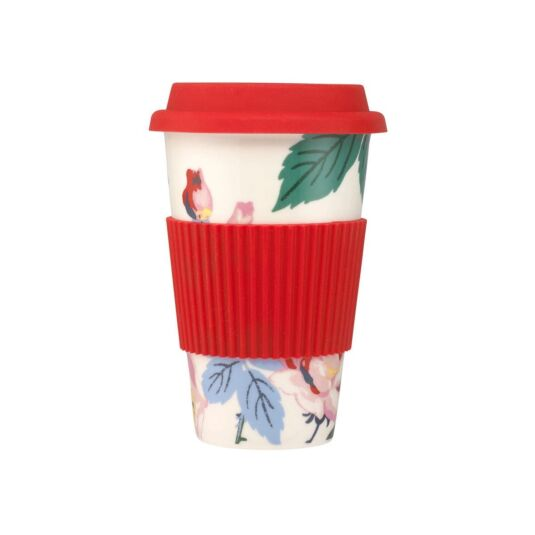 Eiderdown Rose Ceramic Travel Mug
