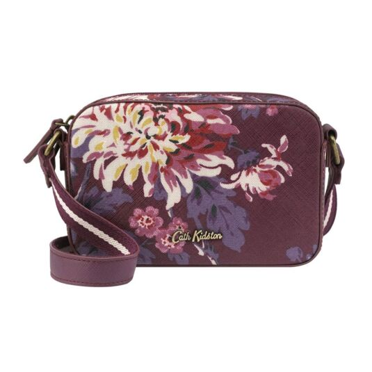 York Flowers Mini Lozenge Cross Body Bag