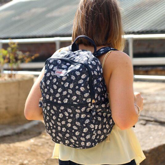 Falling Cosmos Foldaway Backpack