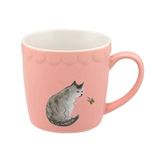 Embossed Cat Boxed Mug