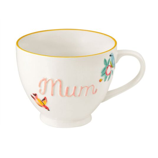 Spring Birds Mum Boxed Mug