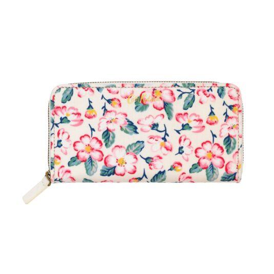 Climbing Blossom Continental Zip Wallet