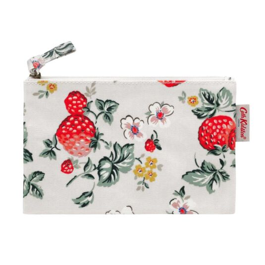 Wild Strawberry Zip Purse
