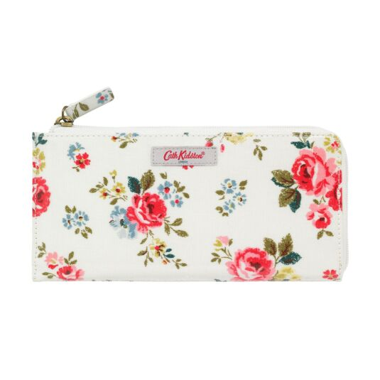Field Rose Long Wallet