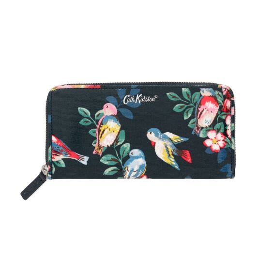 Spring Birds Continental Wallet