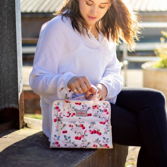 Cherry Sprig Small Pandora Bag