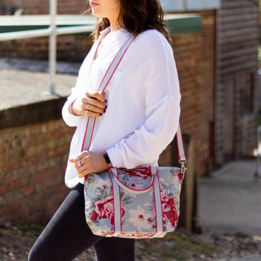 New Rose Bloom Overnight Cross Body Bag