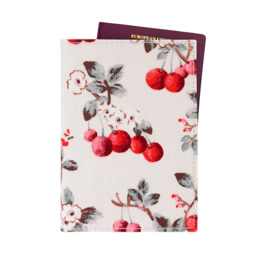 Cherry Sprig Passport Holder