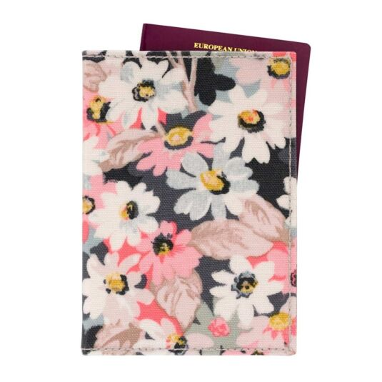 Painted Daisy Passport Holder