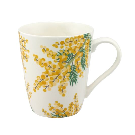 Mimosa Flower Stanley Shaped Mug