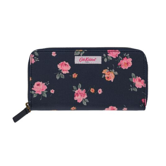 Wimbourne Rose Continental Zip Wallet