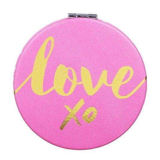 Oh So Pretty 'Love' Compact Mirror