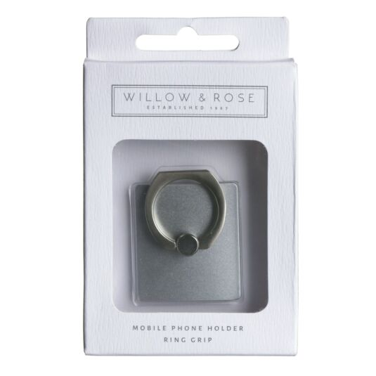 Willow & Rose Silver Phone Ring