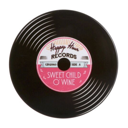 'Sweet Child O' Wine' Record Coaster