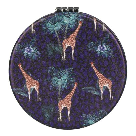 Jungle Giraffe Compact Mirror