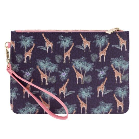 Jungle Giraffe Makeup Bag