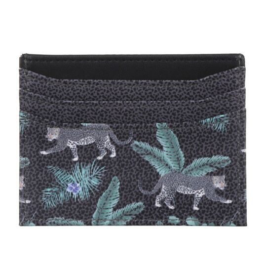 Jungle Leopard Card Holder