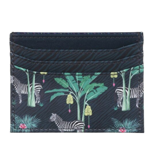 Jungle Zebra Card Holder