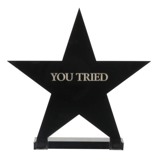 'You Tried' Star Award