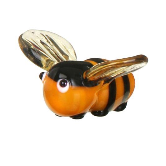 Beekeeper Bumblebee Miniature Glass Ornament