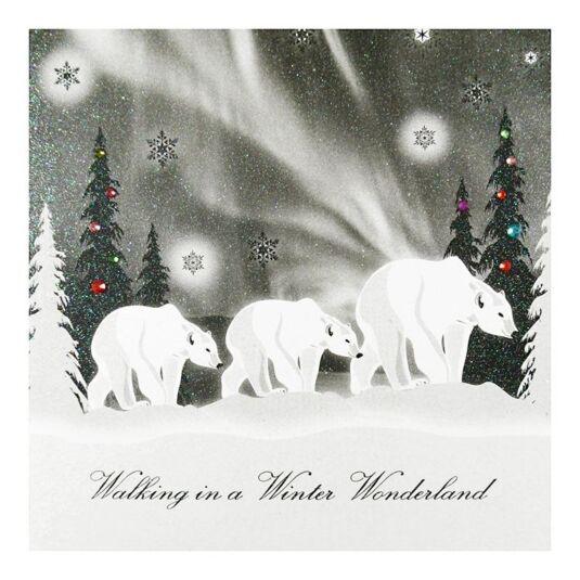 Five Dollar Shake Aurora \'Winter Wonderland\' Christmas Card ...