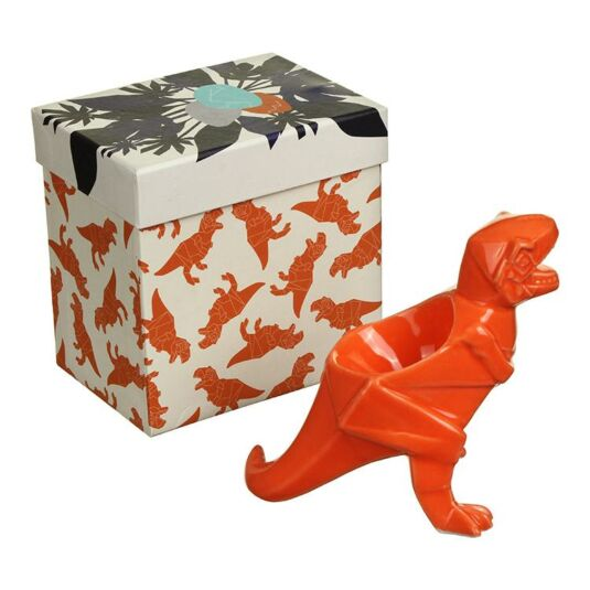 Orange Dinosaur Egg Cup
