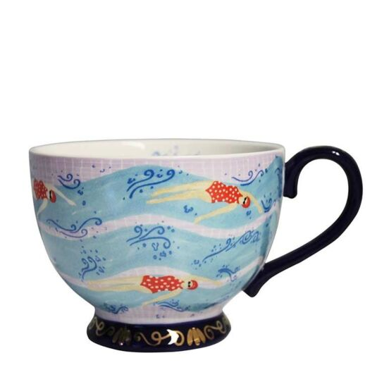 Boulevard Swim Teacup with Gift Box