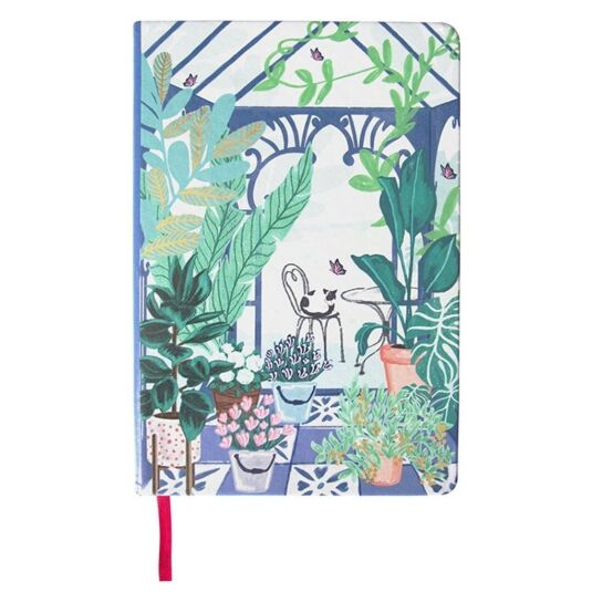 Boulevard Greenhouse A5 Notebook