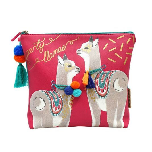 Candy Pop Llama Wash Bag