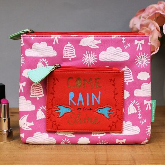 Daydream ''Come Rain or Come Shine'' Makeup Bag