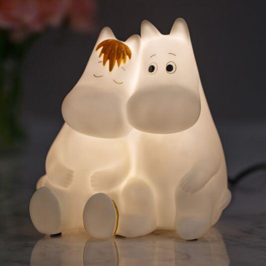 Large Moomin & Snorkmaiden Lamp