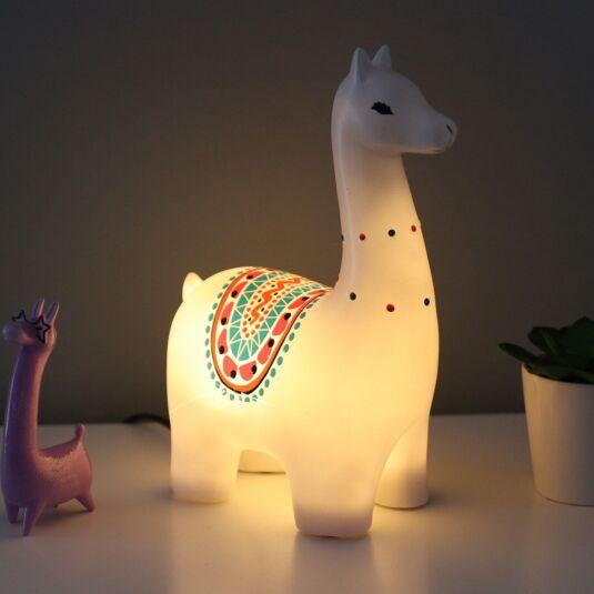 Candypop Llama Lamp