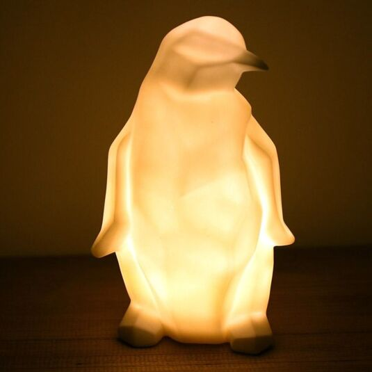Origami Penguin Lamp