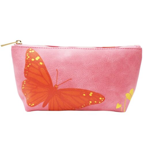 Heritage & Harlequin Butterfly Make Up Bag