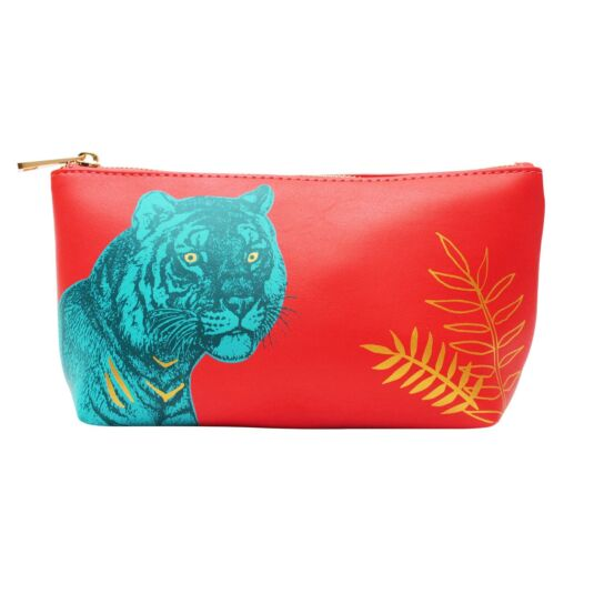 Heritage & Harlequin Tiger Make Up Bag