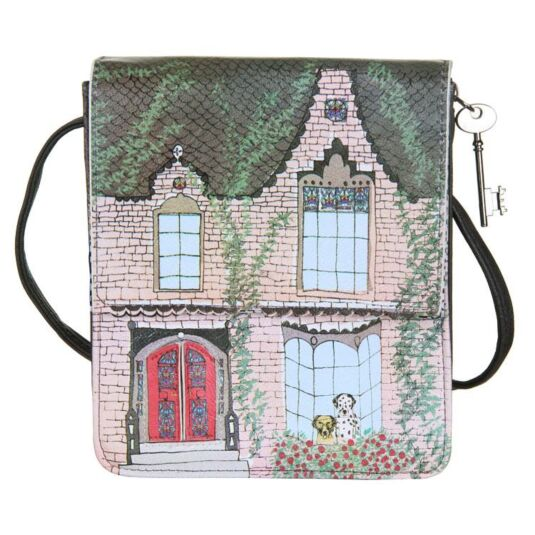 Home Victorian House Shaped Dalmatian Mini Bag