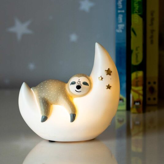 Small LED Sleepy Sloth Light