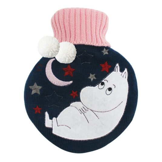 Moomin Moon Hot Water Bottle