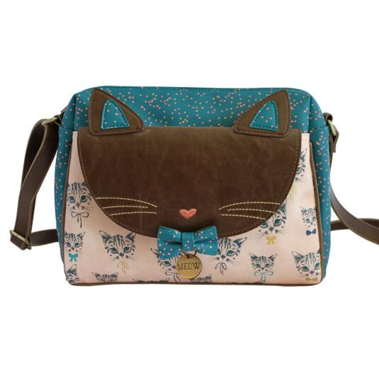 Meow Satchel Bag
