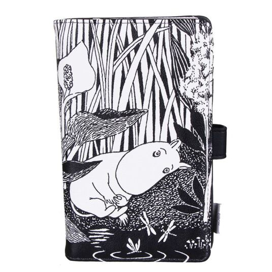 Moomin Midlight Travel Wallet