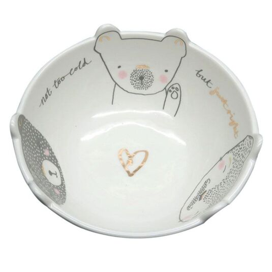 Over the Moon Three Bears Bowl