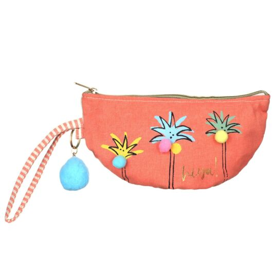 Sherbet Palm Tree Purse
