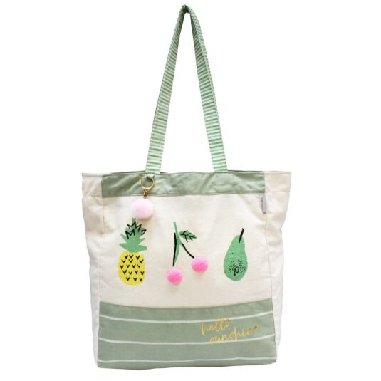 Sherbet Fruit Shopper Bag
